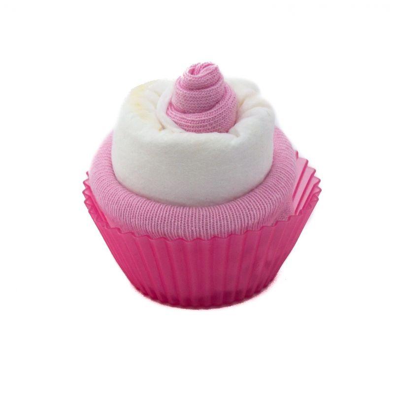 Gâteau de couches : Rose fille