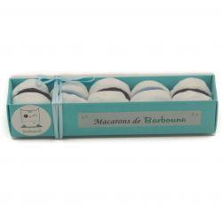 cadeau baby shower Macarons Chaussettes pour bébé : bleu
