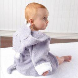 Sortie de bain HIPPOPOTAME pour bébé