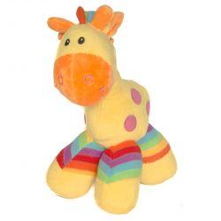 cadeau naissance Peluche cheval : jaune