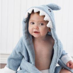 Sortie de bain REQUIN pour bébé