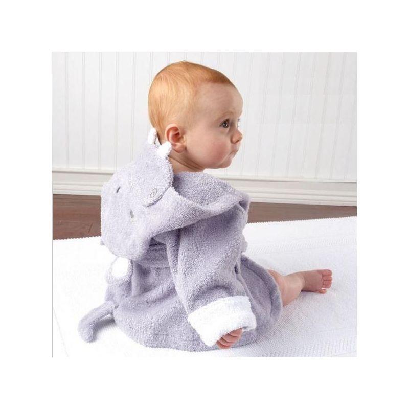 peignoir pour bébé hippopotame cadeau de naissance