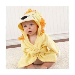 Sortie de bain pour bébé LION
