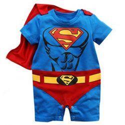 Ensemble bébé superman cadeau naissance