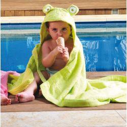 Cape de bain évolutive grenouille