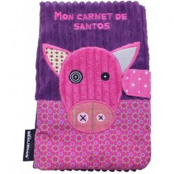 Protège carnet de santé Déglingos : Jambonos le cochon