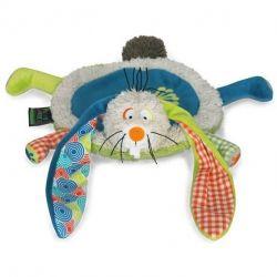 cadeau bébé Doudou Funky Garden : Gabin le lapin