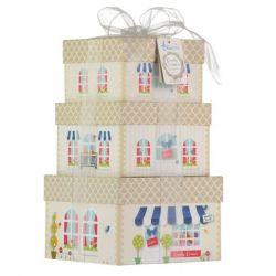 Ensemble  3 boites de cadeaux pour bébé