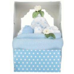 Gâteau de naissance : Bleu