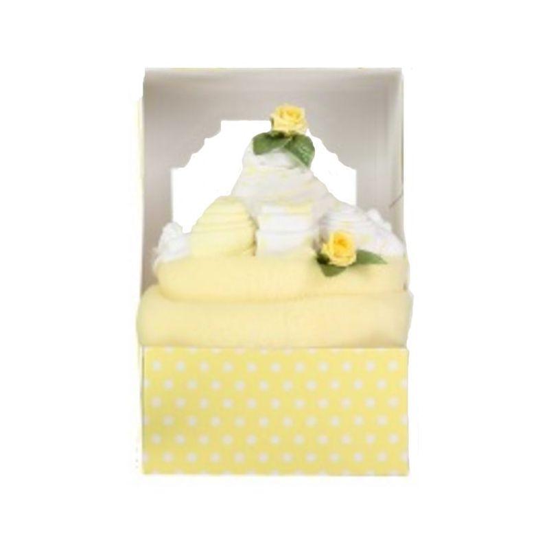 Gâteau de naissance : Jaune