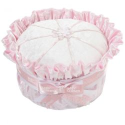 baby shower Gâteau de couches : velours rose