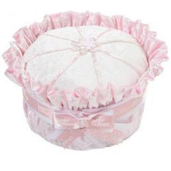 Gâteau de couches : velours rose