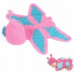Tenue en crochet : Papillon