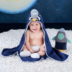 Coffret pour le bain de bébé : Cosmonaute