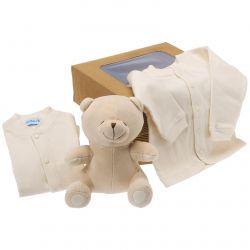 Coffret naissance bio : Ours beige