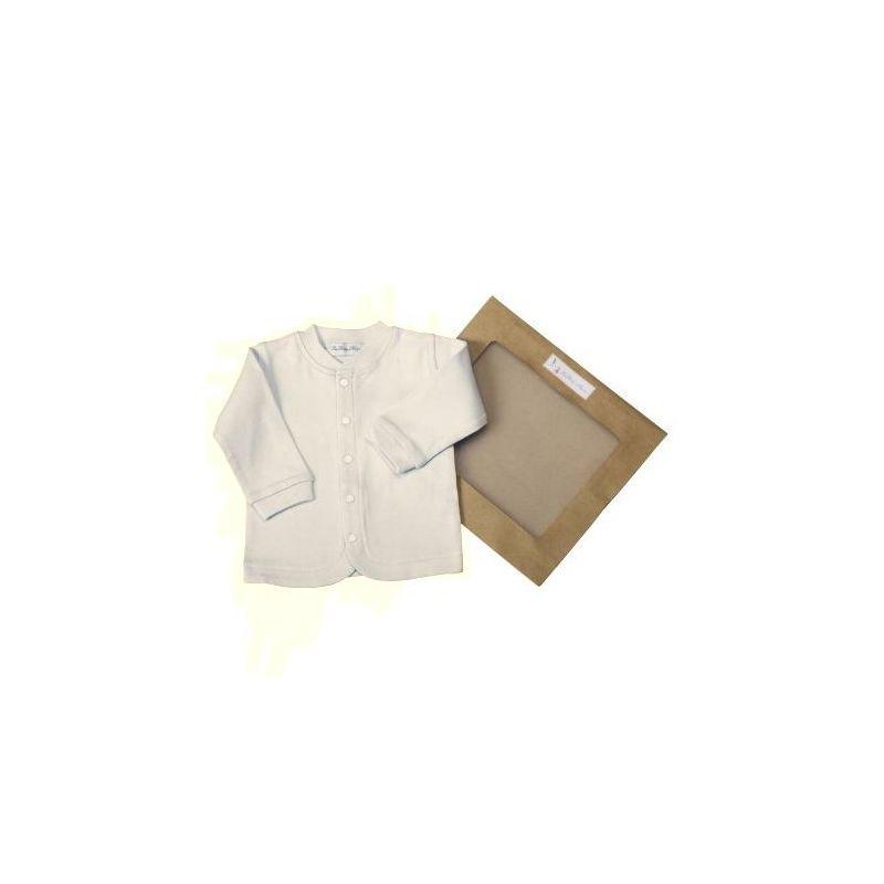 Veste bébé en coton bio : Beige