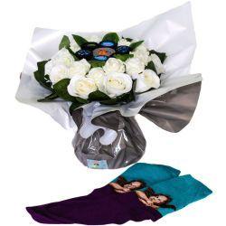 Bouquet de chaussettes : Papa Art
