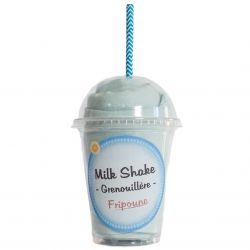 cadeau naissance Milk Shake : Grenouillère Garçon