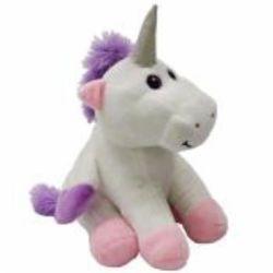 Peluche pour bébé : Licorne de 25cm