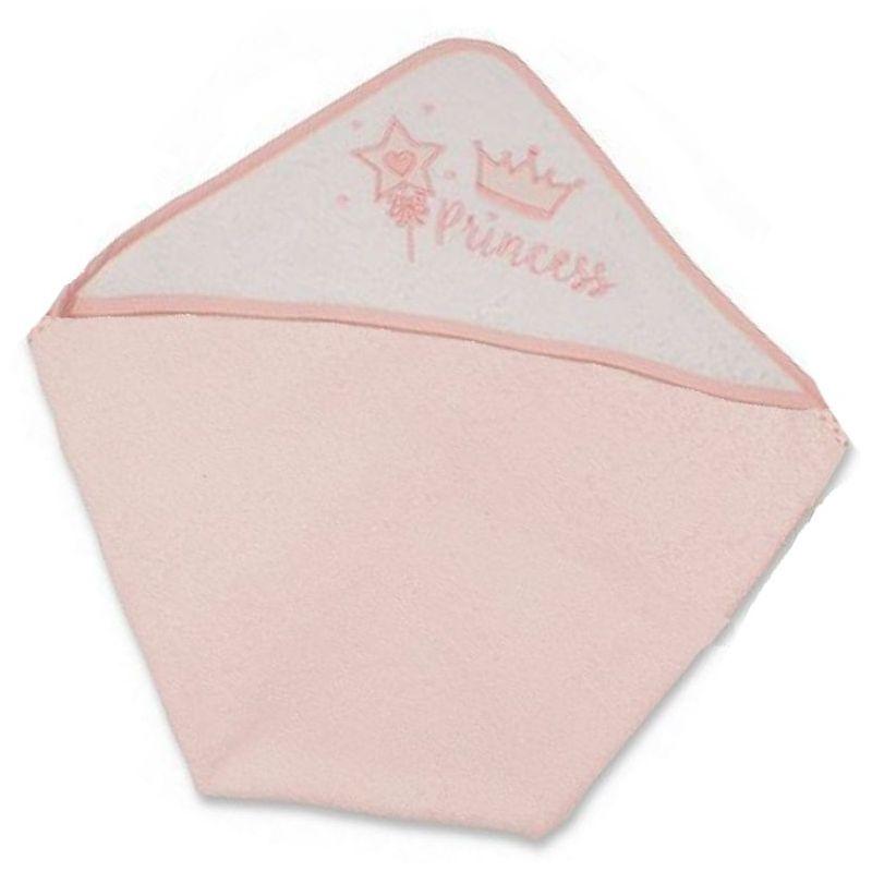 cape de bain :princesse rose