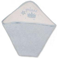 Cape de bain : prince Bleu