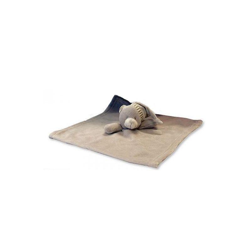 Doudou personnalisé teddy gris