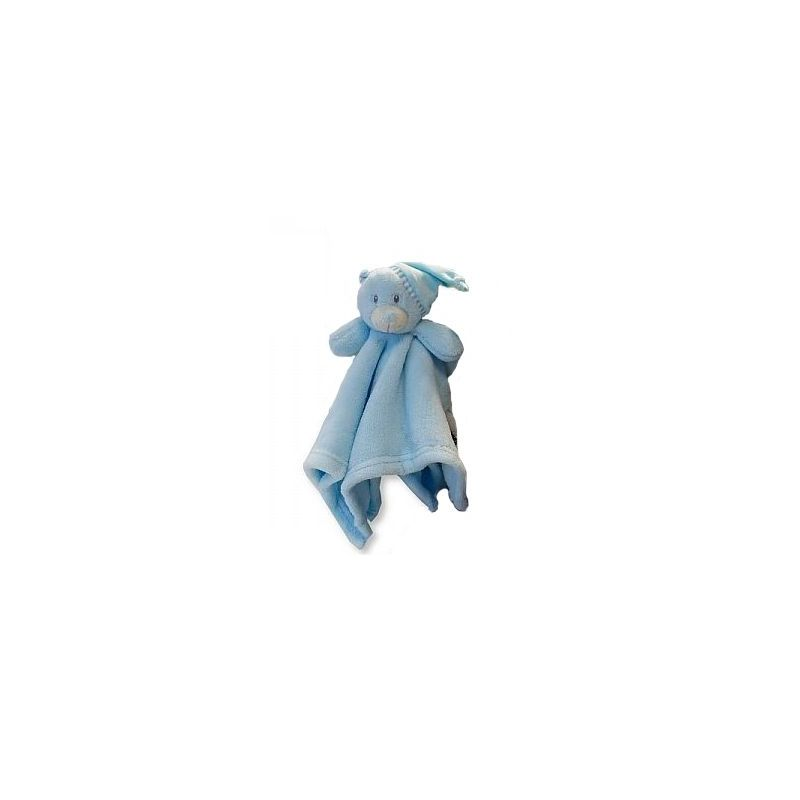 Doudou teddy gris