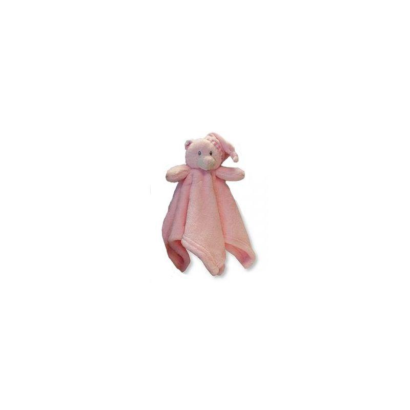 Doudou personnalisé teddy rose