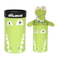 Peluche Déglingos : L'alligator