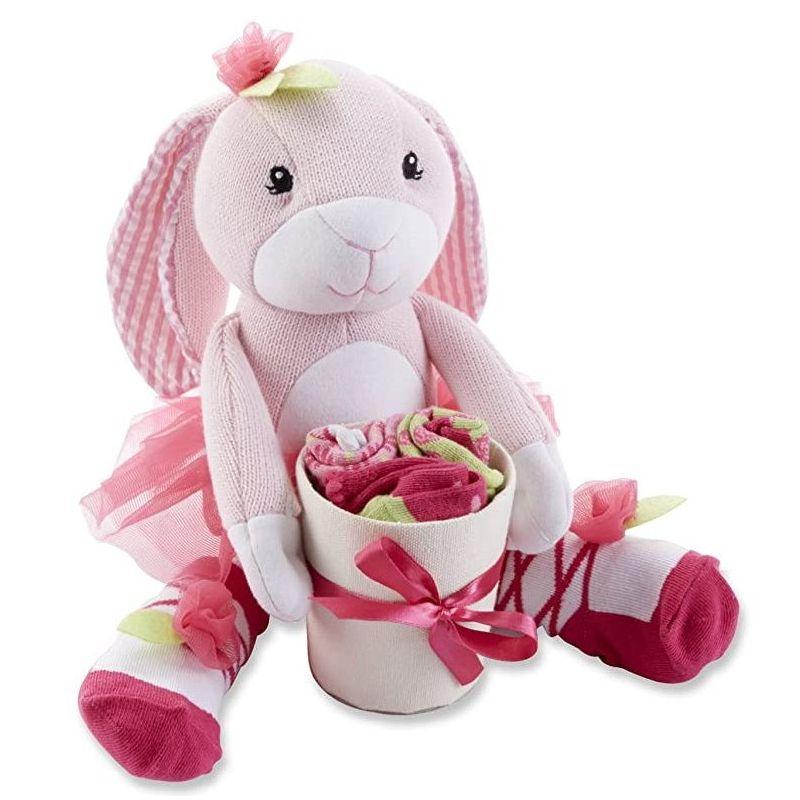 Bunnysocks peluche lapin rose cadeau petite fille