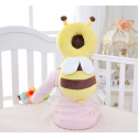 Protège tête de bébé : Abeille jaune coussin de protection bébé