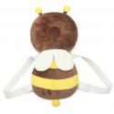 Sac à dos Protège tête de bébé : Abeille marron