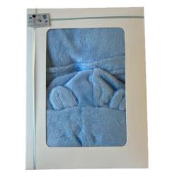 Peignoir pour bébé : bleu