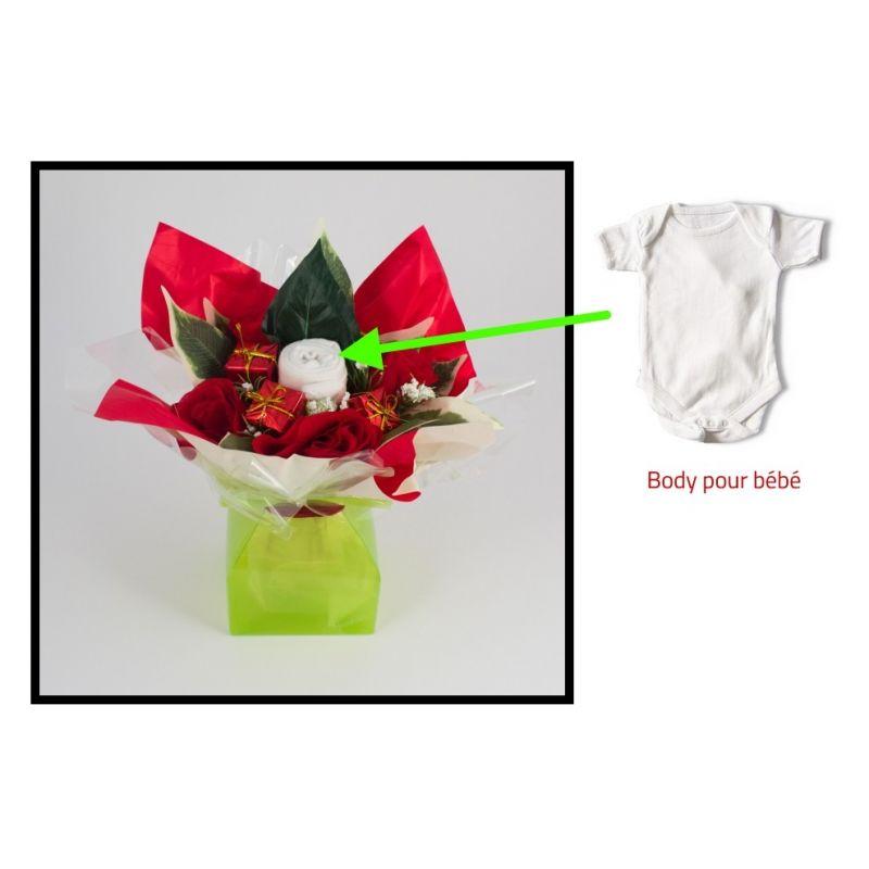 Bouquet Body Noël de naissance original