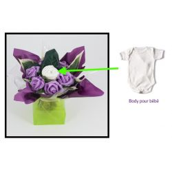 Bouquet Body naissance original fille