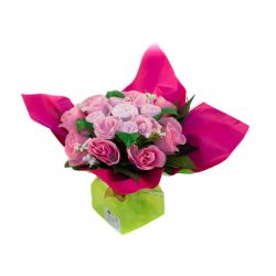 Bouquet de naissance original pour maman et bébé : Mélodie fille cadeau naissance