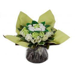 Bouquet de 8 layettes : Symphonie Vert