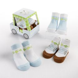 Voiturette chaussettes garçon idées cadeaux insolites