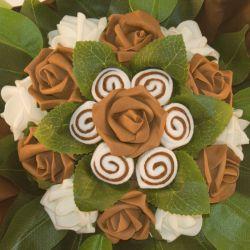 cadeau bébé Bouquet de chaussettes insolite chocolat