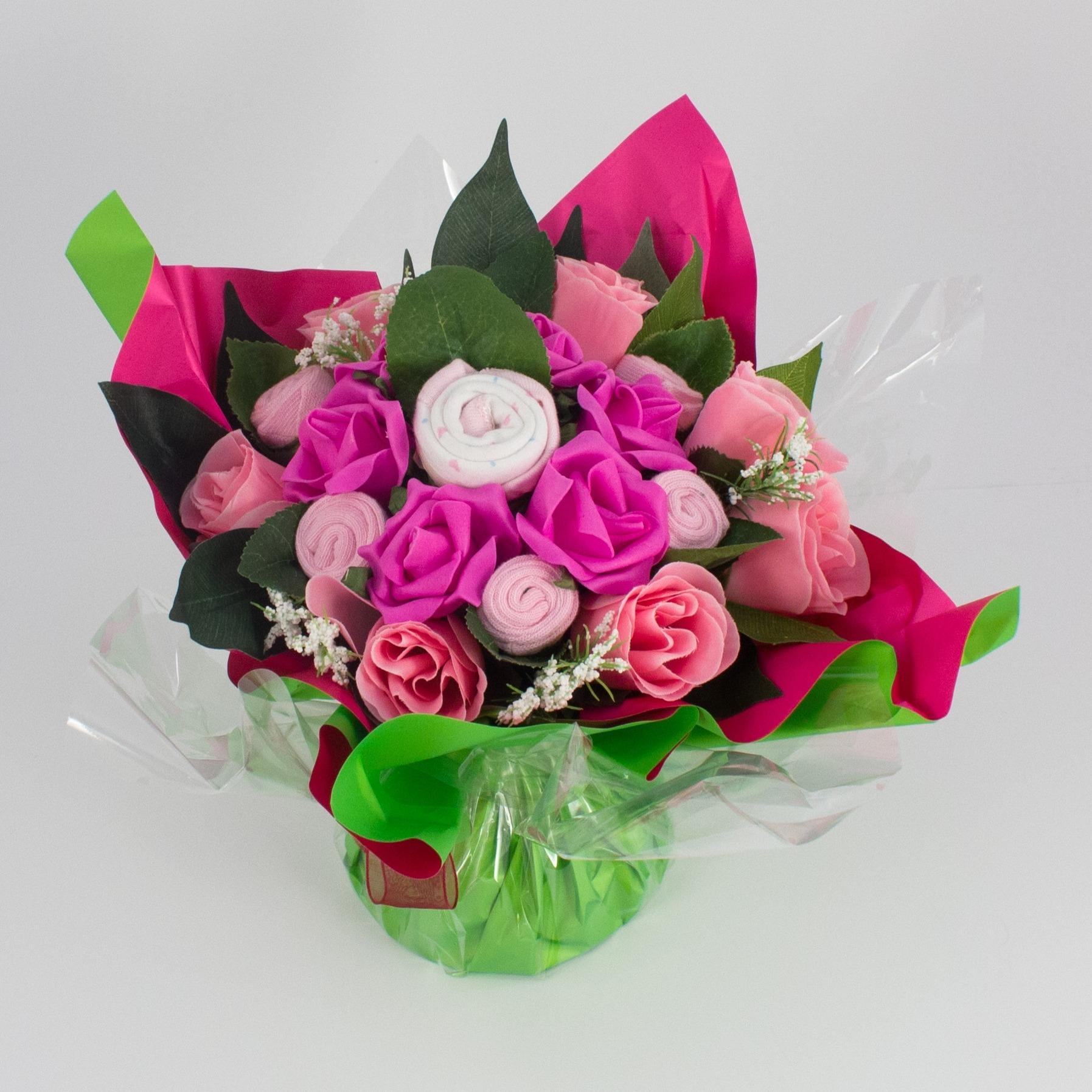 Le bouquet de layette ou bouquet b b le blog de fripoune for Bouquet de fleurs xxl