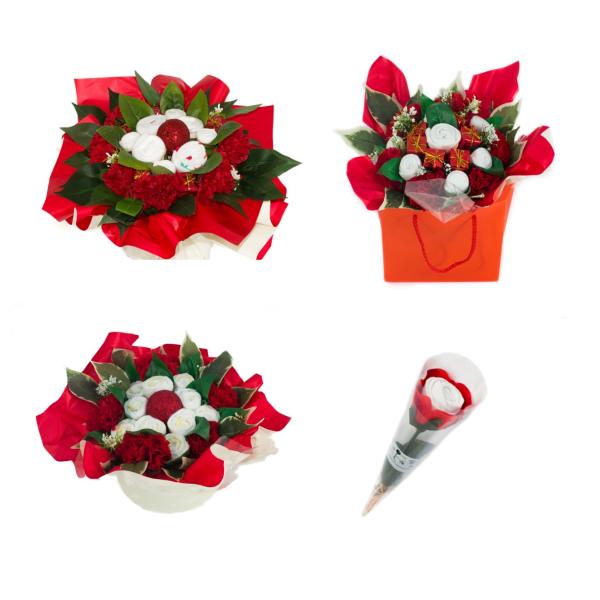 Des cadeaux de Noël dédiés aux jeunes mamans, des bouquets de naissance spécial Noël