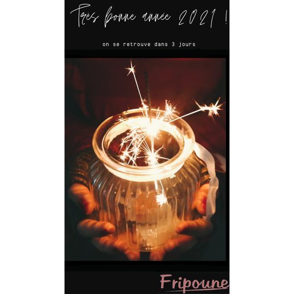 Bonne année 2021 à tous